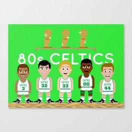 The 1980s Celtics Canvas Print
