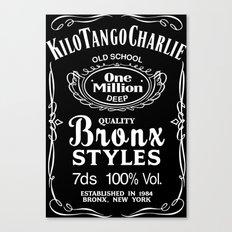 Kilo Tango Charlie - White Canvas Print