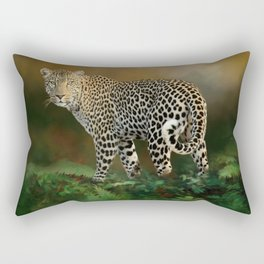 Leopard II Rectangular Pillow