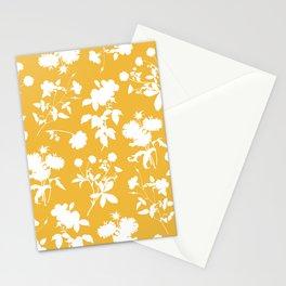 Botanic garden - yellow Stationery Cards