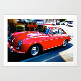 A 1962 Porsche Reborn Art Print