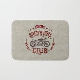 Rock 'n Roll Motorcycle Club Bath Mat