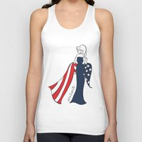patriotic Tank Tops featuring Patriotic Sophie by philoSophie's