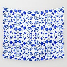 Velasco Blue -1 Wall Tapestry