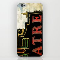 theatre iPhone & iPod Skins featuring Old Theatre by Massimiliano Bertozzi