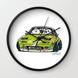 Crazy Car Art 0152 Wall Clock
