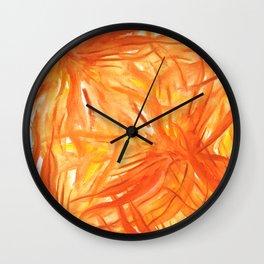 Palmeras Wall Clock