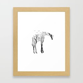 Camelopardalis Framed Art Print