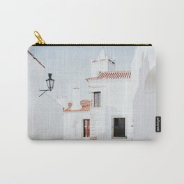 Monsaraz Art Print | Portuguese Travel Photography | Monsaraz Alentejo Portugal Carry-All Pouch