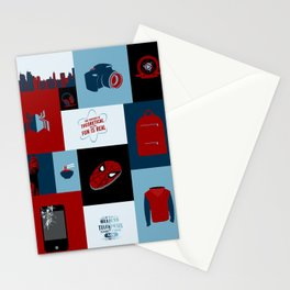 Spider-man Homecoming Minimalist Stationery Cards