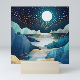 Moon Glow Mini Art Print