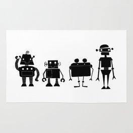 Four Robots Rug