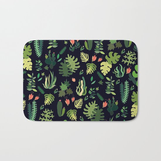 tropical! Bath Mat