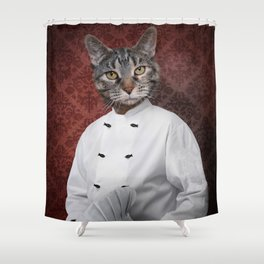Chef Lola Shower Curtain