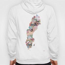 Sweden map Hoody