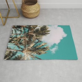 Palm Trees and Island Breeze Rug