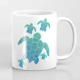 A Family of Sea Turtles Coffee Mug