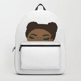 Color splash portrait Backpack