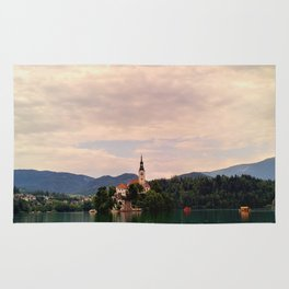 Lake Bled Fairy Tale Rug