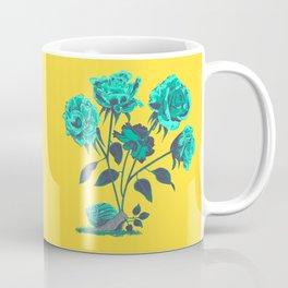 Snails N' Roses Coffee Mug