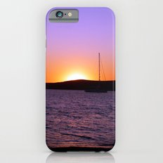 Sunset Sail, Paros Island, Greece Slim Case iPhone 6s