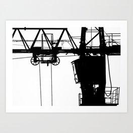 Acrophobia Art Print