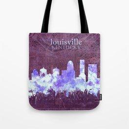 louisville skyline vintage Tote Bag