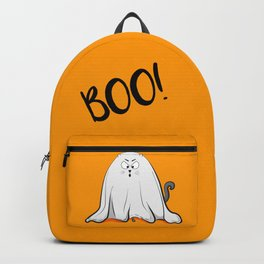 Ghost cat BOO! Backpack