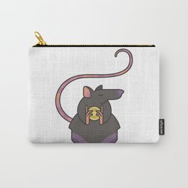 Greedy Rat Illustration Carry-All Pouch