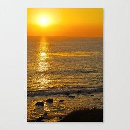 the edge of earth Canvas Print