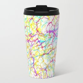 Colorful crackles Travel Mug