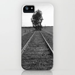 Tree tracks iPhone Case