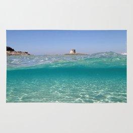 Sardinia, underwater Rug
