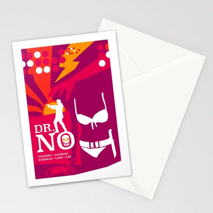 James Bond Golden Era Series :: Dr. No Stationery Cards