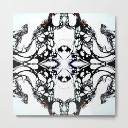 Carbon Essence Collider 12 Metal Print