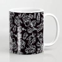 robots Mugs featuring Robots by MC STD