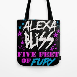 Alexa Bliss - Five Feet of Fury Tote Bag
