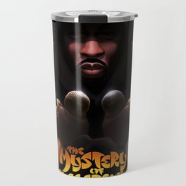 The Mystery of Chessboxing Travel Mug