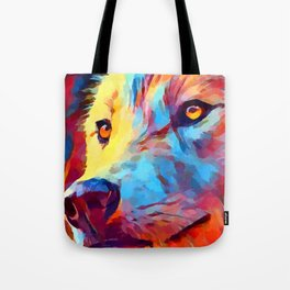 Wolf Portrait 3 Tote Bag