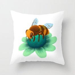 Bee's Knees Throw Pillow