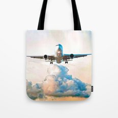 The Miracle of Flight Tote Bag