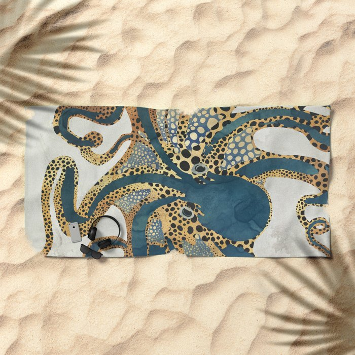 Underwater Dream VI Beach Towel