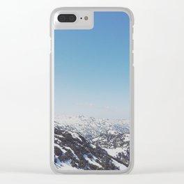 Untersberg, Austria Clear iPhone Case