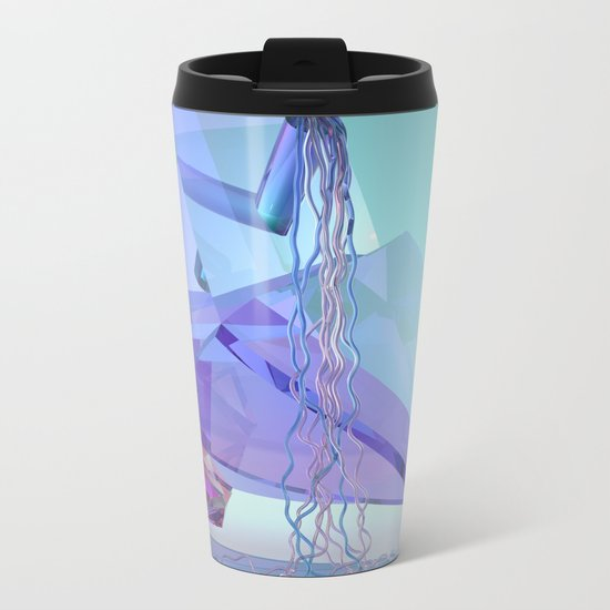 Mountain River Metal Travel Mug