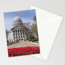 Capitol Spring 1, Madison Wisconsin Stationery Cards