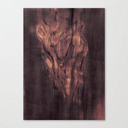 One Idea Corrupts an Evolution Canvas Print