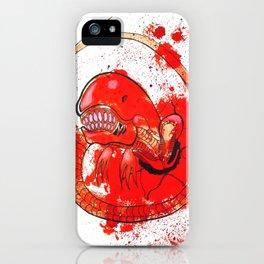 Alien chestbursting iPhone Case