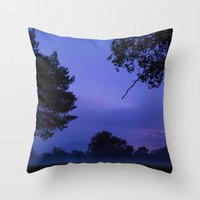 romance Throw Pillows featuring Romance by Mark Spence