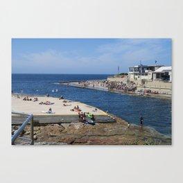Clovelly Beach Canvas Print