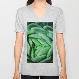 succulent cactus III Unisex V-Neck